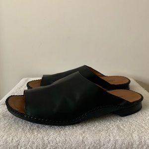 Men's Black Hermès Sandles